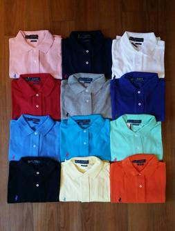 Men Polo Ralph Lauren Mesh Polo Shirt Size S M L XL XXL - CL