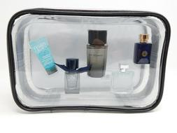 Men's 5 Piece Cologne Gift Set Versace Burberry Azzaro Kenne