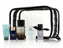 Men's 5 Piece Cologne Perfume Gift Set Versace Burberry Azza