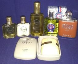 Men's Cologne & Aftershave lot Stetson, British Sterling, Sa