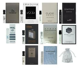 Men's cologne sampler set - Designer perfume sample Lot x 5