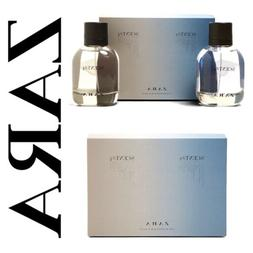 ZARA MEN'S COLOGNE SCENT# 2 AND SCENT# 4 SIZE 100ML 3.4 FL.