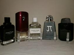 Givenchy Mens Cologne *2 ML* Lot Of 5