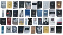 MENS COLOGNE FRAGRANCE DESIGNER SAMPLES 10 PCS RANDOM LOT GI