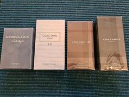 Mens Cologne Lot of 4 - Dolce & Gabbana, Burberry & Jimmy Ch
