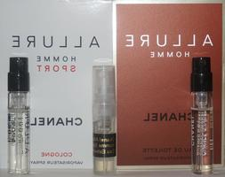 Mens Chanel Cologne Samples Allure Homme Allure Homme Sport