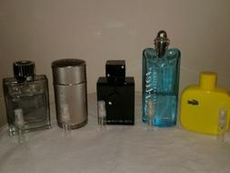 Mens Cologne *Sample* Lot #6: 3 ML Versace, Dior, Bvlgari, C