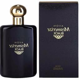 Avon Mesmerize Black for Men Cologne Spray NIB 3.4oz.