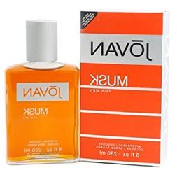 Jovan Musk By Jovan For Men. Aftershave Cologne 8 Ounces by
