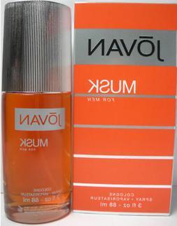 Jovan Musk By Coty 3.0oz/90ml Edc Spray For Men New In Box