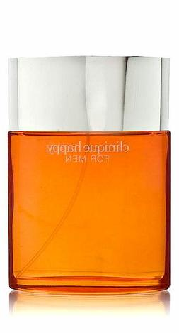 New 3.4 oz Clinique Mens HAPPY Cologne Spray