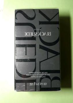 new Avon black Suede Eau de Toilette EDT Cologne Spray 3.4 o