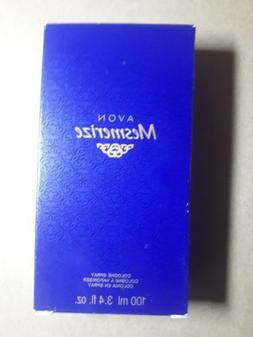 new Avon Mesmerize Cologne Spray 3.4 Fl Oz for men