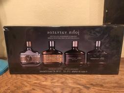 NEW Sealed John Varvatos Men's Fragrance Collection Set 4 x