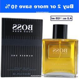 HUGO BOSS Number One 4.2 oz EDT Spray by Hugo Boss Men's Per
