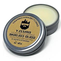 oak city beard co grizzly solid cologne