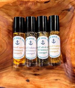 Organic/Natural cologne men fragrance set -essential oils ho