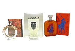 Mini Fragrance Set for Men, 3 Piece Bundle Collection Set. A