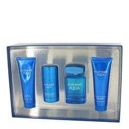 Perry Ellis Aqua by Perry Ellis Gift Set -- 3.4 oz Eau De To