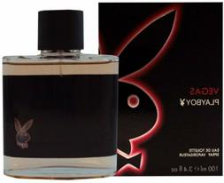 Playboy Vegas Cologne by Coty, 3.4 oz EDT Spray for Men NEW