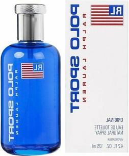 Polo By Ralph Lauren For Men. Eau De Toilette Spray 4 Ounces