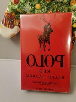 Polo Red Cologne by Ralph Lauren 4.2 oz EDT Spray for Men NE