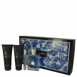 Versace Pour Homme Cologne By Versace Gift Set FOR MEN NEW