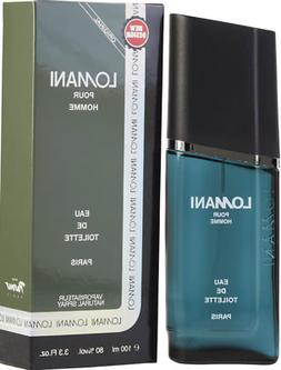 LOMANI pour HOMME Cologne for Men 3.3 oz / 3.4 oz New in Box