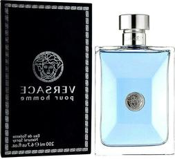 VERSACE Pour Homme Cologne Perfume For Men 6.7 Oz 200 Ml Edt