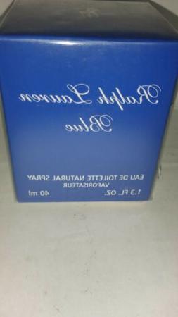 Ralph Lauren Blue Edt Spray 1.3oz By Ralph Lauren SEALED