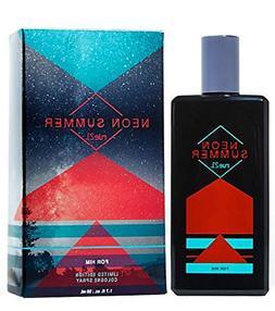 Men's Rue21 Neon Summer For Him Cologne Spray 1.7 Fl. oz Lim