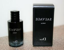 DIOR Sauvage Eau De Parfum 0.34 .34 oz / 10mL Mini Travel si