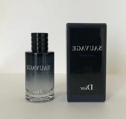 Dior Sauvage Eau de Toilette EDT Cologne Mini .34 0.34 oz 10