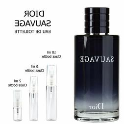 Dior Sauvage sample EDT Cologne  2ml 5ml 10ml Decant Travel