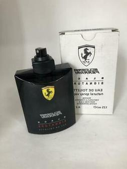 Ferrari Scuderia Black Signature Cologne -/ 125 ml EDT Witho