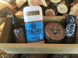 ✰ SIGLARR GIFT BOX For MEN ~ Salve Deodorant Beard Oil and