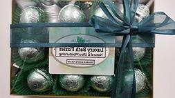 Designer Scents Gift Set for Men with 12 foil-wrapped 2.5 oz