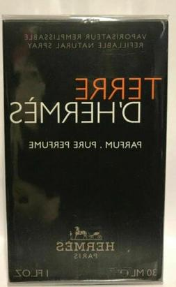 Terre D'Hermes for Men Pure Parfum Refillable Spray 1.0 oz