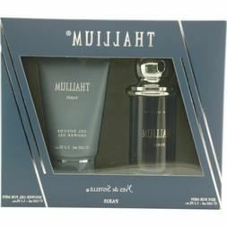 Thallium Gift Set for Men 3.4 oz Cologne EDT Spray + 3.3 oz
