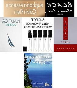 Men's 5-Piece Fragrance Variety Sample Pack )