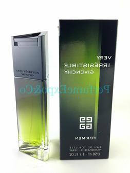 VERY IRRESISTIBLE Givenchy MEN COLOGNE 1.7oz 50ml EDT Spr DI