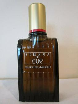 VINTAGE ARAMIS 900 HERBAL COLOGNE-1.7 OUNCE SPLASH-NEW OLD S
