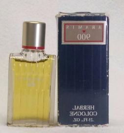 Vintage Aramis 900 Herbal Cologne .25 oz ~ Free Ship!