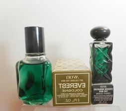 Vintage Avon Everest Mens Cologne Splash in Original Box NOS