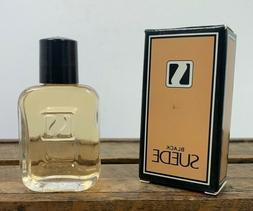 Vintage NOS Avon Men's Black Suede Cologne .5 fl oz Full Ori