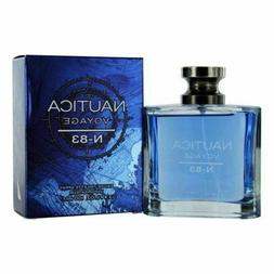 Nautica Voyage N-83 Cologne 3.4 Oz Edt For Men - NAUVN-8334S