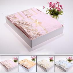 Wedding Bath Towel Gift <font><b>Box</b></font> Set Towels B