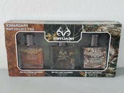 Realtree Xtra Mens Cologne Fragrance Gift Collection 3-Pack