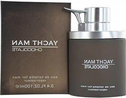 Myrurgia Yacht Man Eau de Toilette Spray for Men, Chocolate,