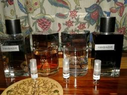 YSL Mens Cologne 2 ML *sample* Lot Of 4
